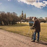 Художники почуяли весну. :: Наталья Иванова