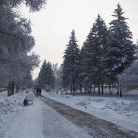 На прогулке в сквере городском... :: Александр Попов