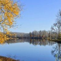 Осень на протоке :: юрий Амосов