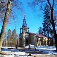 Церковь Петра и Павла в Шуваловском парке :: Наталья Левина