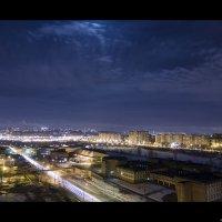 Нет ни чего лучше смотреть на город с высоты. :: Эльдар Циммерман