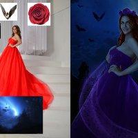 Вампирша (до и после) :: Veronika G