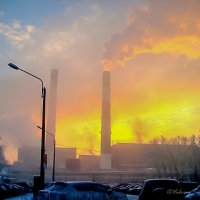 Туман или смог? :: Валерий Смирнов