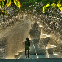 У фонтана... :: Алла Рыженко