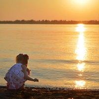 На пляже :: Анастасия Рычагова