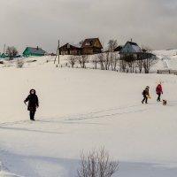 Идём в село :: Дмитрий Стёпин