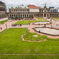 Цвингер в Дрездене :: Юрий Мазоха