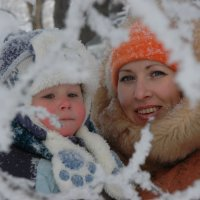 В морозном кружеве... :: Андрей Решетько