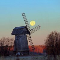 Ветряная мельница. :: Нина