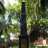 памятник А. Никитину недалеко от Мумбая. :: maikl falkon