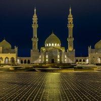 Зимние Бодгары, Белая мечеть. :: Юрий Казарин