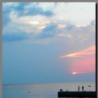 закат.  море.  дивноморск. :: Ivana
