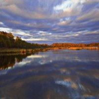 осень на воде.... :: александр дмитриев