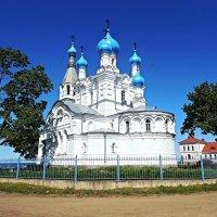Церковь Петра и Павла в Ветвенике :: Елена Павлова (Смолова)