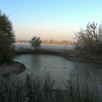 пруд ранним утром осени :: Виталий  Селиванов