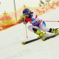 Горный лыжи, слалом :: Вячеслав Ложкин