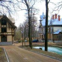 Восстановленная дача Сверчкова :: Сергей