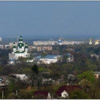 Чернигов с высоты колокольни Троицкого монастыря :: Юрий Бойко