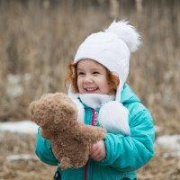 Веселая малышка :: Анастасия Исайкина