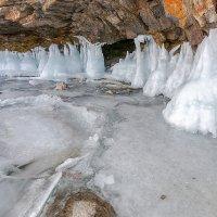 Ледяные сталактиты :: Анатолий Иргл