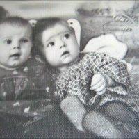Сестрички. 1953 год :: Нина Корешкова