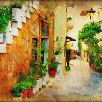 Залитая солнцем улица :: Лидия (naum.lidiya)
