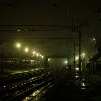 Там, где смыкаются рельсы... :: Дмитрий Костоусов
