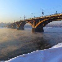 Старый Ангарский мост :: Анатолий Иргл