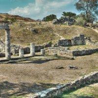 Пританей Пантикапея, II век до н.э. :: Анатолий Щербак