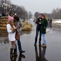 Любовь под дождём :: Владимир Болдырев