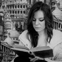 За книгой :: Марья Цалко