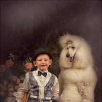 Мальчик с пуделем :: Анастасия Бембак