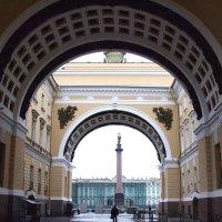 тишина на дворцовой площади :: Елена Фёдорова