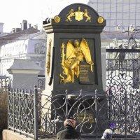 Памятник на могиле Артемия Петровича Волынского :: Андрей Зайцев