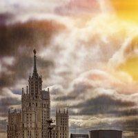 Прогулка по Московским крышам :: Евгений Жиляев