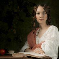 Портрет девушки с книгой :: Victor Brig