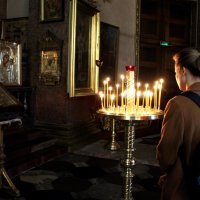в Казанском кафедральном соборе, СПБ :: elena manas