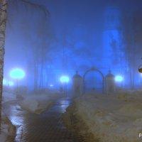 Православный собор в тумане :: Владимир Филиппов