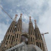 Храм  семьи      Барселона :: Виталий  Селиванов