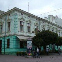 Бывшее  польское  казино  в  Ивано - Франковске . :: Андрей  Васильевич Коляскин