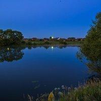 Ночь на реке. :: Александр Тулупов
