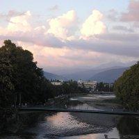 Река Сочи, вечер :: Булаткина Светлана