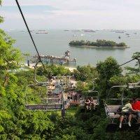 Фуникулер на острове Сентоза, Сингапур :: Светлана Гусельникова