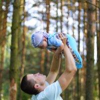 Папа и сын :: Юлия Фотограф