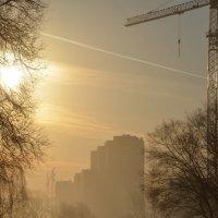 городское утро :: Евгений Фролов