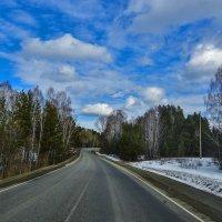 Весенняя трасса :: юрий Амосов