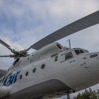 Вертолет Ми-6 у аэропорта г. Сургут :: Константин Каменский