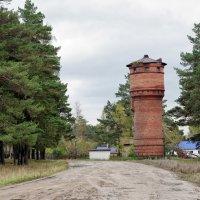 Сибирская глубинка. Старая водонапорная башня :: Дмитрий Конев