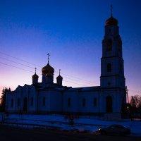 Храм и Букашка. :: Валерий Гудков