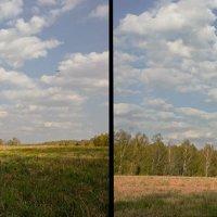 Линейная перспектива и ее отсутствие :: Nina Grishina